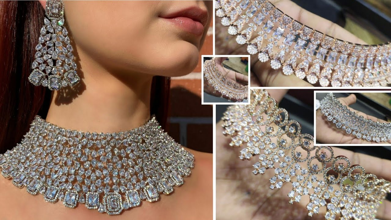American diamond jewelry collection at online stores